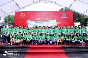 "Thu Cuc Hospital participated in the ""Proud of Vietnamese Brand"" Parade"