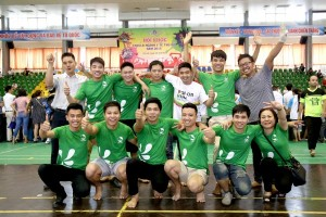 Thu Cuc Hospital attended the Sport Competition for Health Workers in Hanoi, 2015