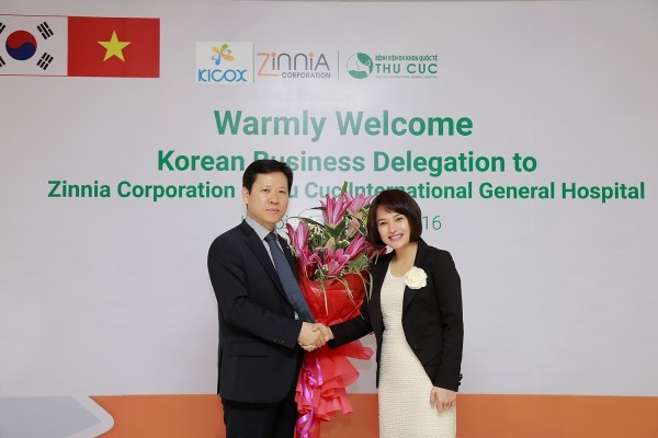 Promotion of cooperation between Zinnia Corporation and South Korea