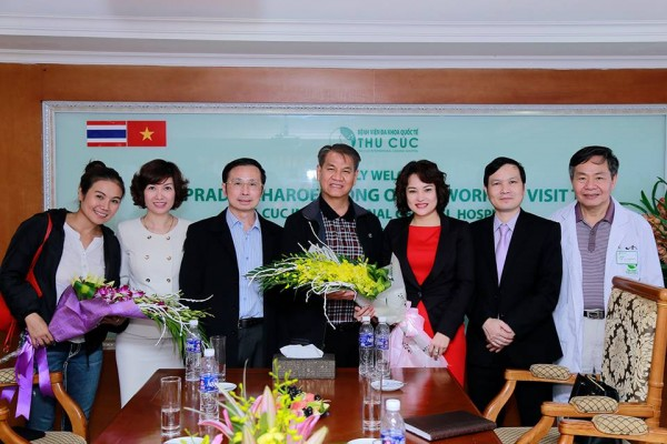 Thu Cuc International General Hospital warmly welcomed the leading esthetician from Thailand