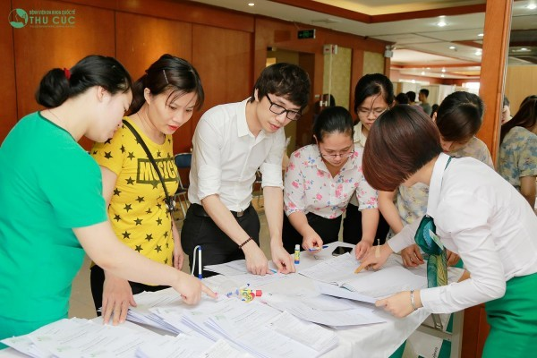 Thu Cuc Hospital conducted a periodic medical examination for all employees