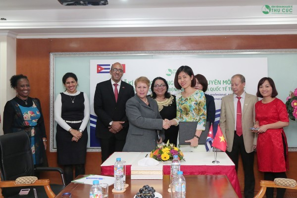 Thu Cuc International General Hospital and Cuba sign cooperation agreement